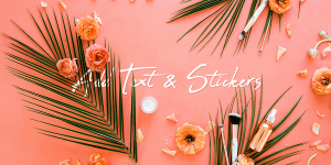How To Add Text and Stickers Using photo Editor Photo Studio?