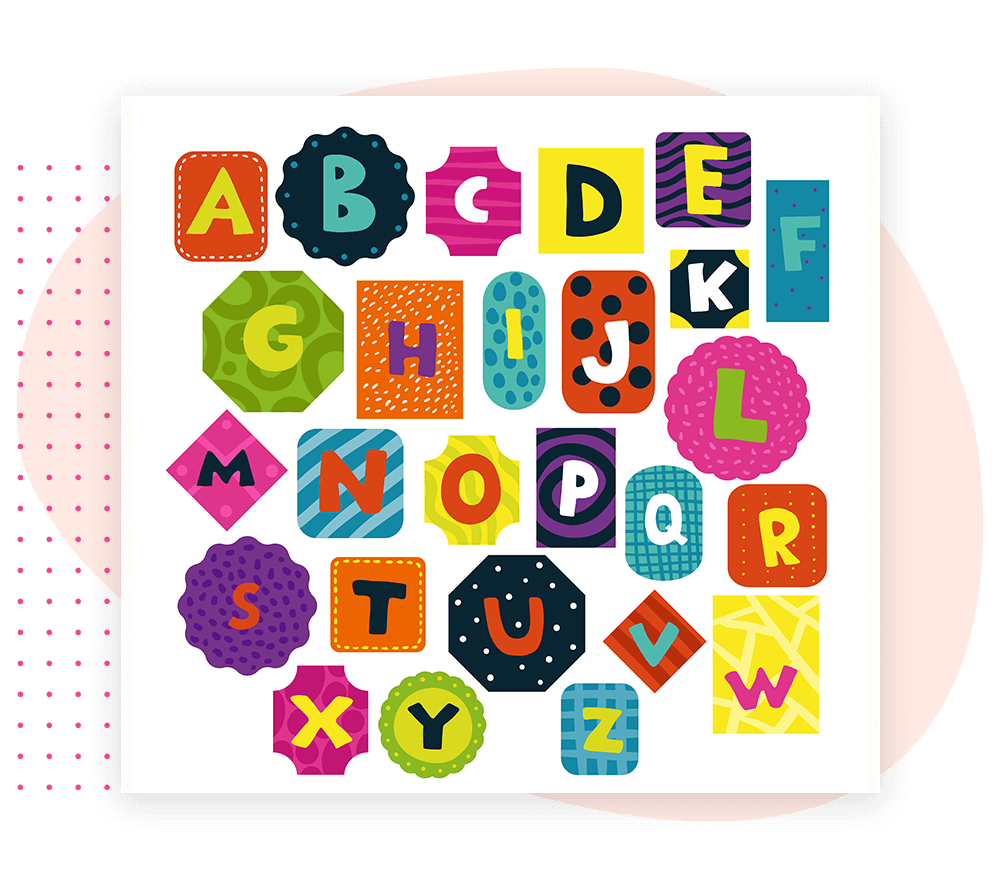 How To Add Alphabet Stickers text Using Text Creator